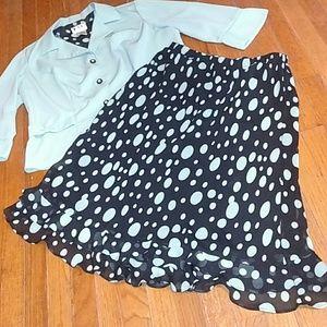 KSL Blazer & Skirt set
